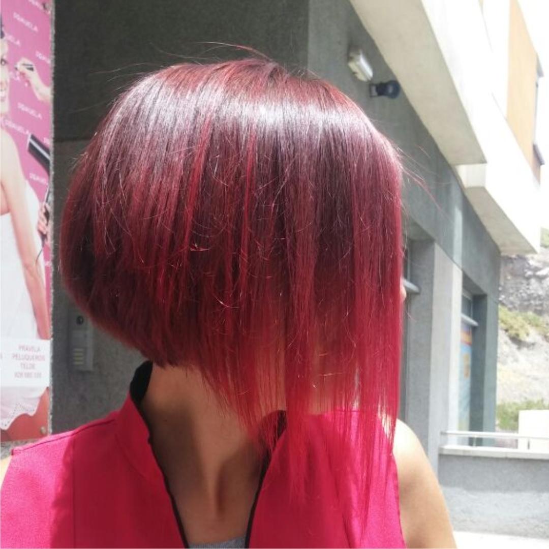 Corte de pelo mujer moderno