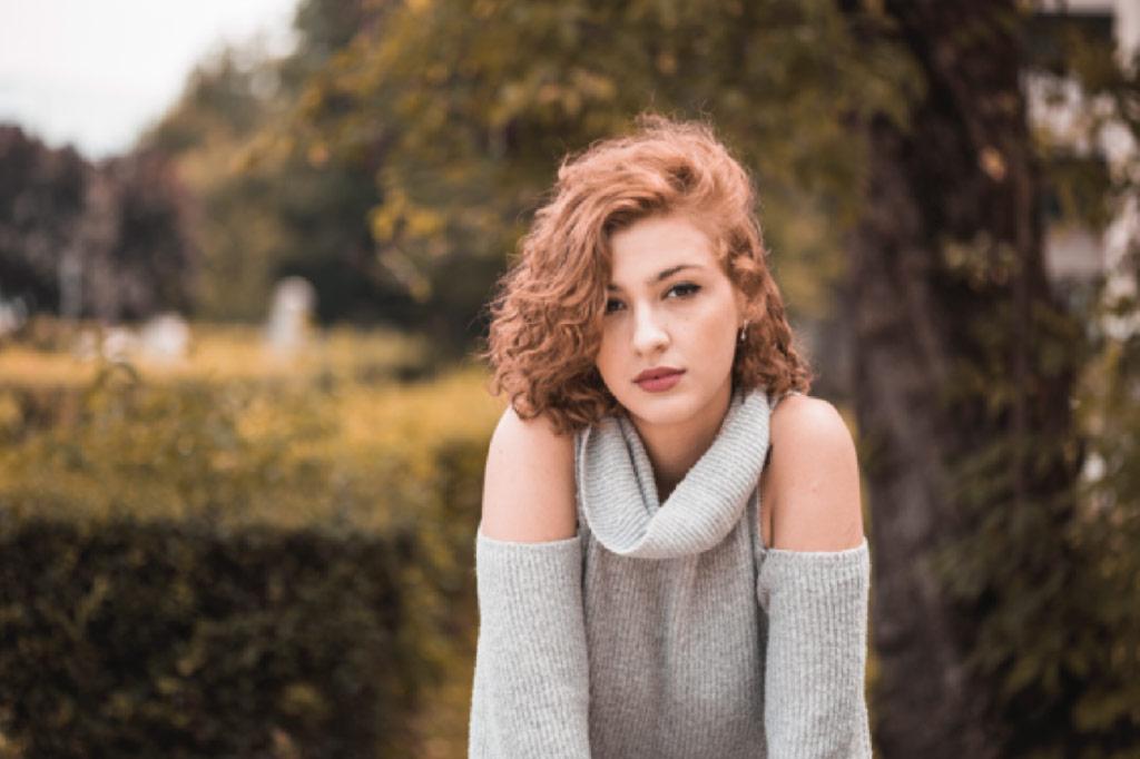 Corte de pelo para mujer Blunt cut ondulado